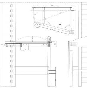 detail tekening Mackintoch