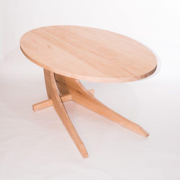 Ovale eetafel